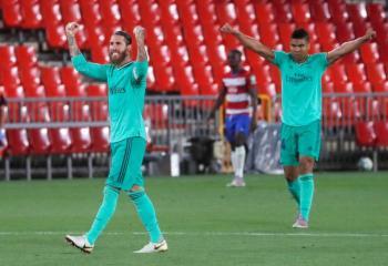 Real Madrid gana al Granada y está a un paso del título