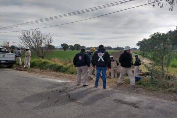 Toma clandestina causa fuga de combustible en Tlahuelilpan