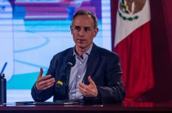 AMLO asegura que López-Gatell no dejará de dar sus informes sobre pandemia