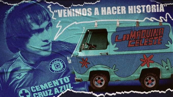 Shaggy Martínez ilusionado con Cruz Azul, espera que Scobby lo siga apoyando
