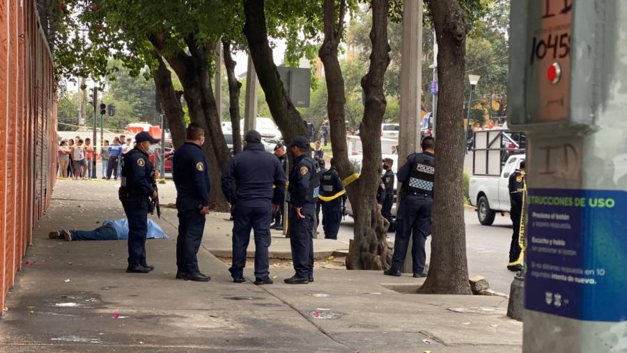 Balacera en la colonia Buenos Aires deja al menos un muerto