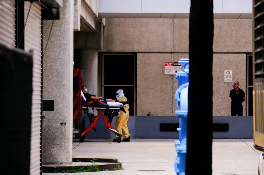 Tres estados de EU reportan aumento récord en cifra de muertos por Covid-19
