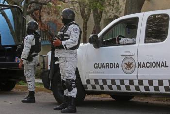 Abate Guardia Nacional a tres presuntos delincuentes en Zacatecas