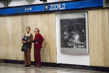 Funcionará el Metro Zócalo hasta las 5 de la tarde