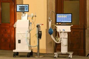 Presentan dos respiradores artificiales de manufactura mexicana