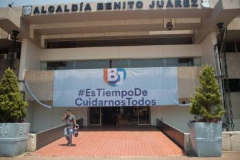 BJ arranca reactivación económica, utilizando vía pública para venta