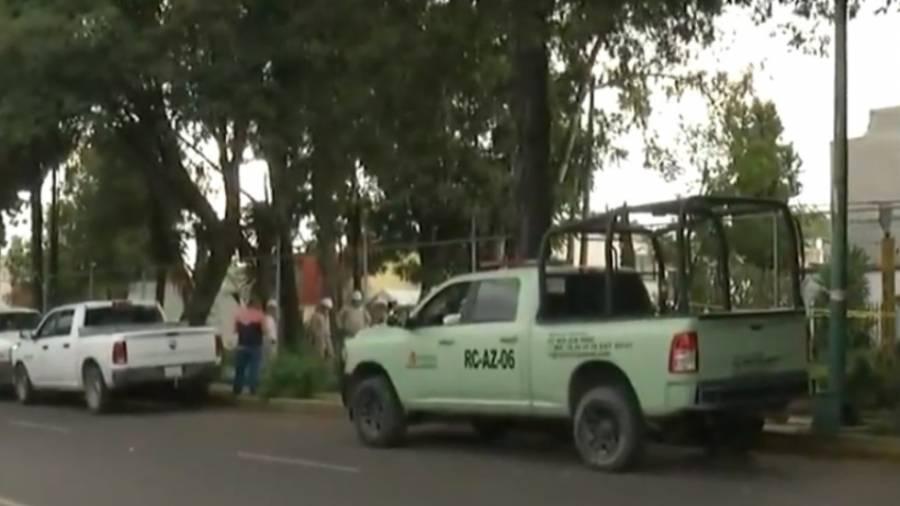 Encuentran toma clandestina en ducto de Pemex en Azcapotzalco