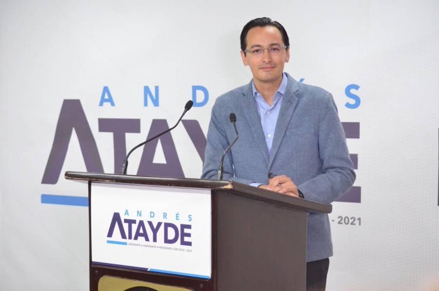 Andrés Atayde afirma que el PAN puede ganar la CDMX para el 2021
