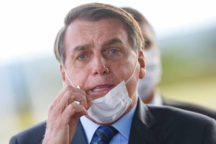 Segunda prueba de Bolsonaro vuelve a dar positivo