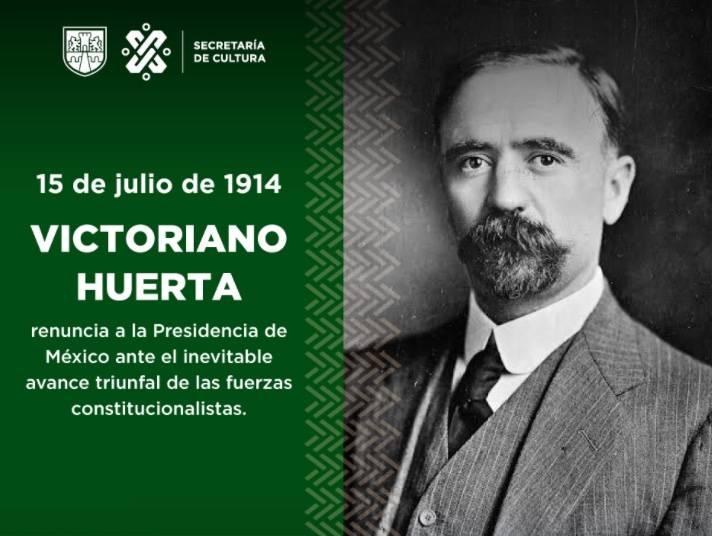 Cultura CDMX confunde a Victoriano Huerta con Madero