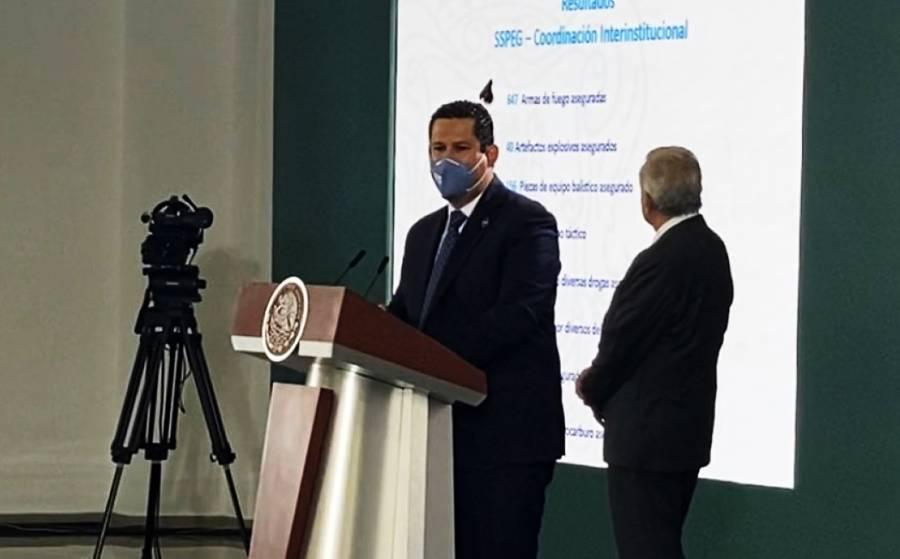 No trabajar unidos sólo beneficia a los delincuentes: Gobernador de Guanajuato