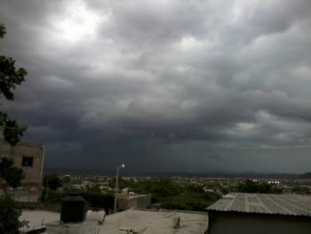 Video: Se registra fuerte lluvia en Sinaloa