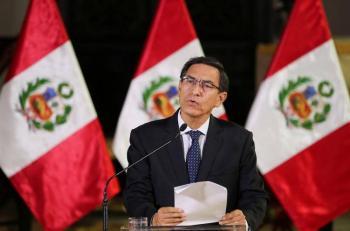 Presidente de Perú anuncia cambio de gabinete en medio de pandemia y crisis económica
