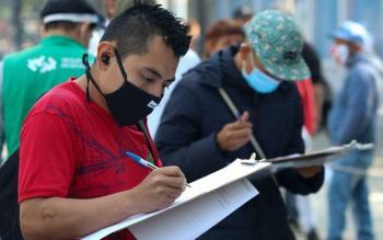 Concluyen 50 mil mexiquenses registro para acceder al programa de apoyo al desempleo