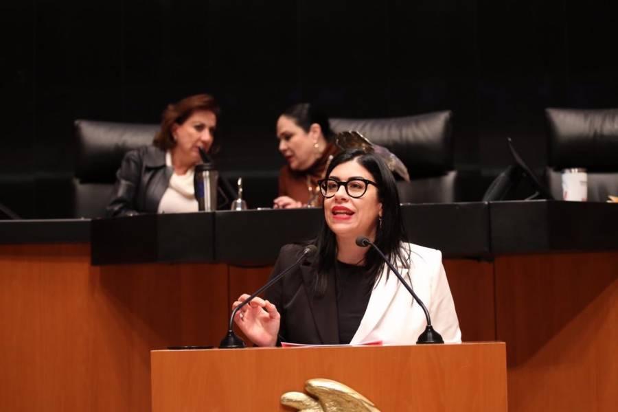 Vanessa Rubio, senadora del PRI, pide licencia para dedicarse a la academia