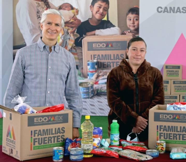 Edomex entregará canastas alimentarias a 125 municipios