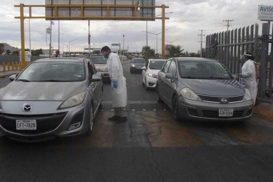 México y EU extienden restricción al tráfico terrestre no esencial