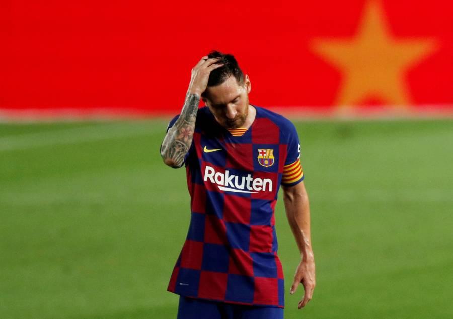 Jugando así también vamos a quedar fuera en Champions, advierte Messi