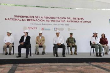 A Dos Bocas siguen dos proyectos más de refinación: AMLO
