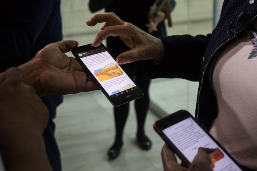 Roban 67 celulares en recinto de Gobierno capitalino