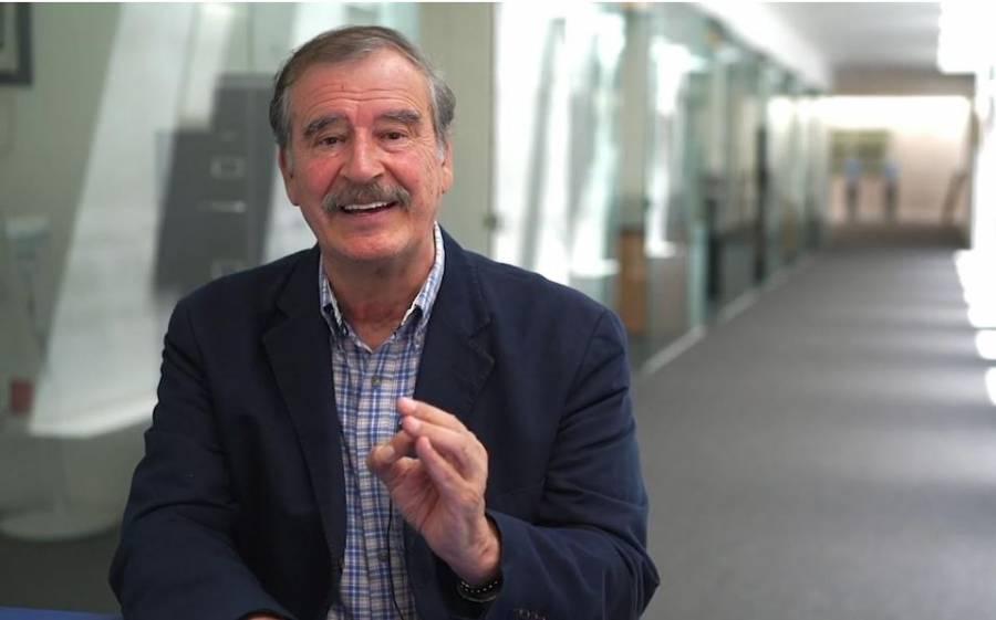 Vicente Fox vende vídeos de felicitación por 5 mil 700 pesos