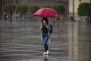 Se esperan chubascos y descargas eléctricas en la Ciudad de México