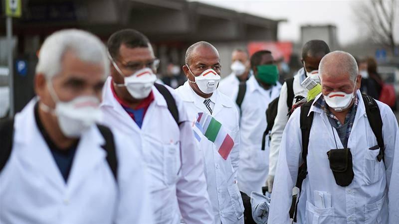 Activistas y músicos rinden tributo a médicos cubanos