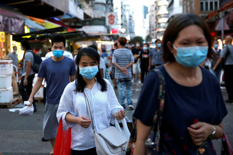 Hong Kong registra el mayor pico de contagios desde que comenzó la pandemia