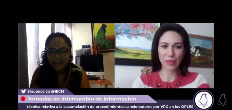 Presenta IECM foro de relatorías por violencia política de género en los OPLEs