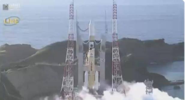 Desde Japón despegó la primera sonda espacial árabe a Marte