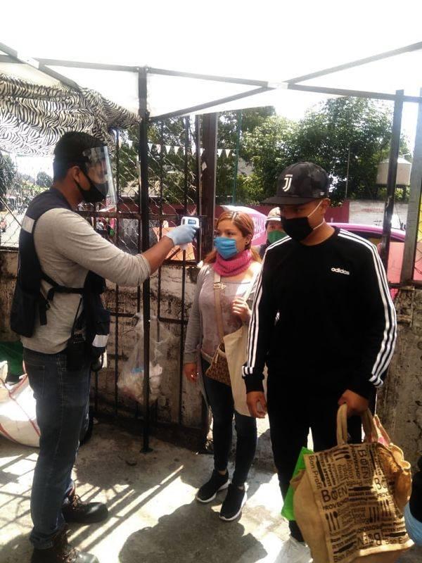 Suspenden tianguis en zonas de alto contagio de la Magdalena Contreras