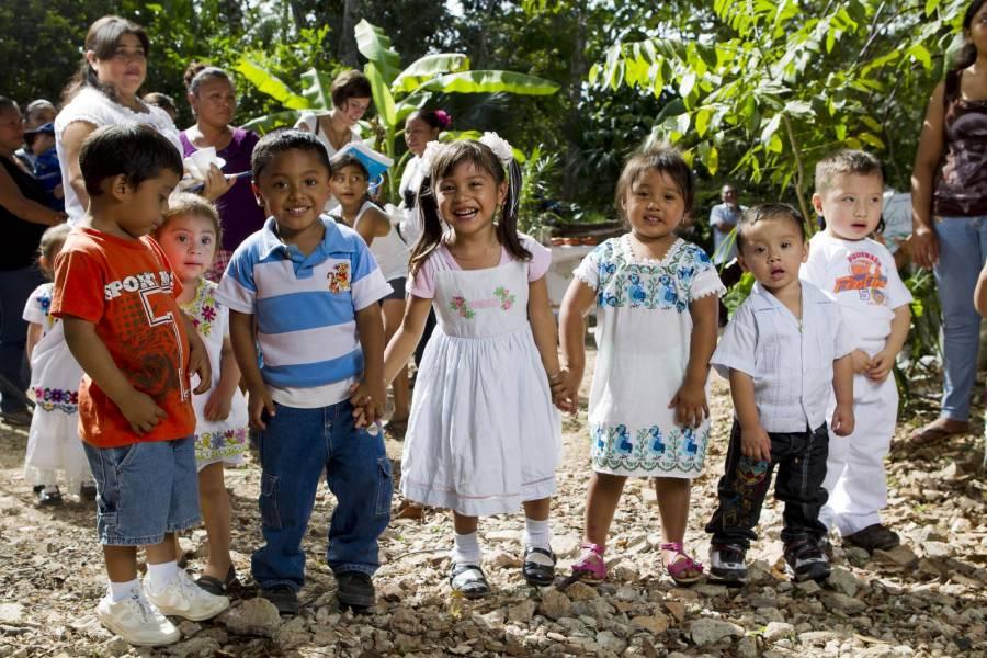 Revela UNICEF que casi 50% de menores en México viven en pobreza