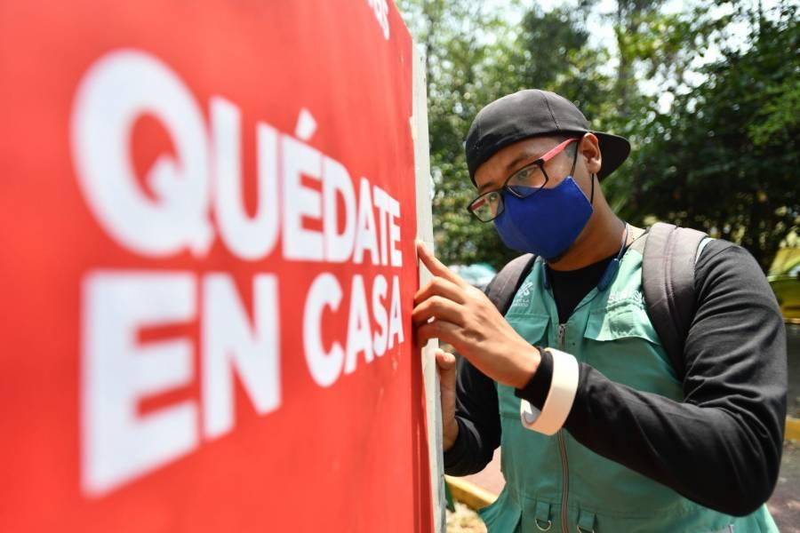SSC capitalina solicita no compartir convocatorias a fiestas Covid-19