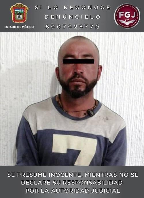 Detienen a hombre que asesinó a mujer y a su hija en Edomex