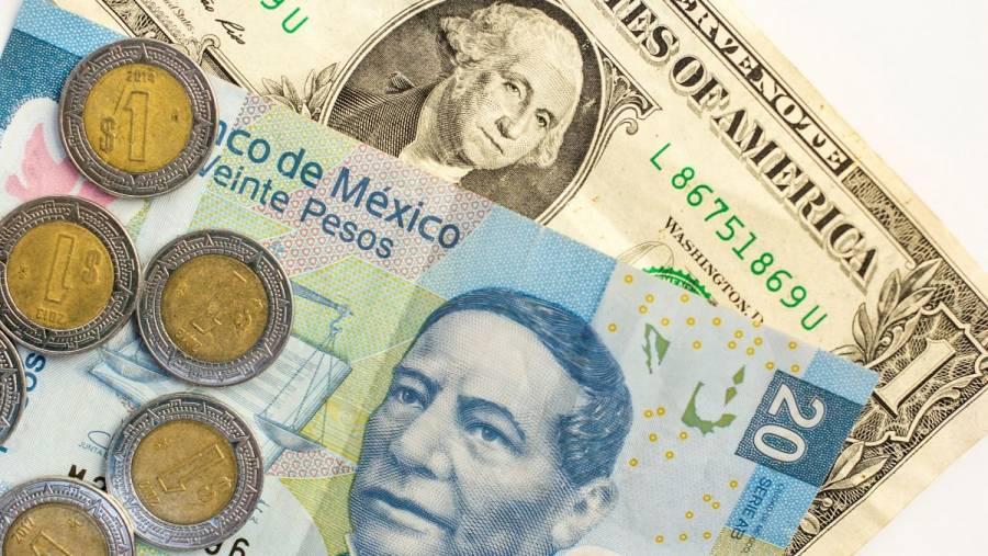 Peso opera errático ante esperanza de estímulos; cotiza en 22.59 por dólar