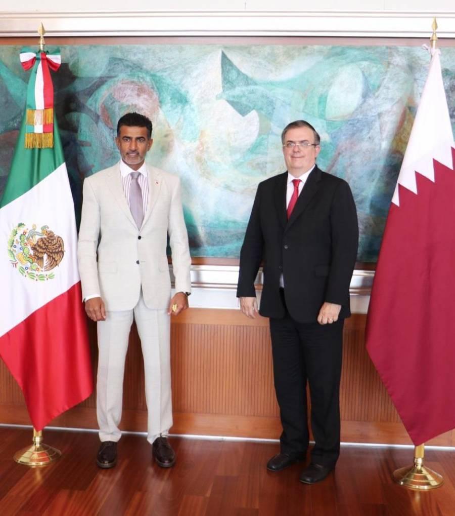 Embajada de Qatar apoya a México con insumos médicos
