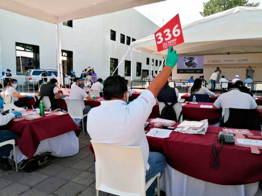 Indep realiza denuncia penal por alteraciones en bienes incautados