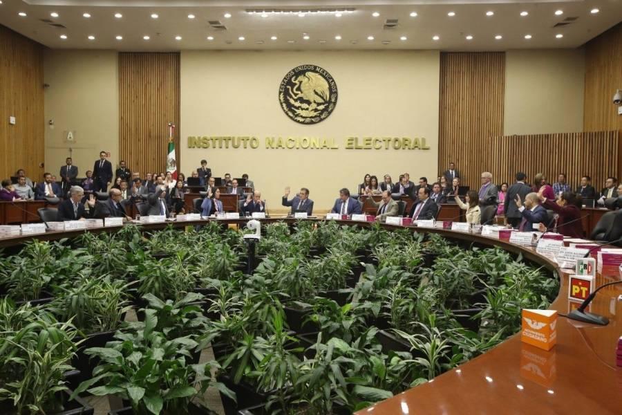 """Muñoz ledo califica a """"golpistas"""" a quienes descalifican proceso del INE"""