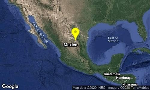 Se registra sismo magnitud 4.5 en Saltillo, Coahuila