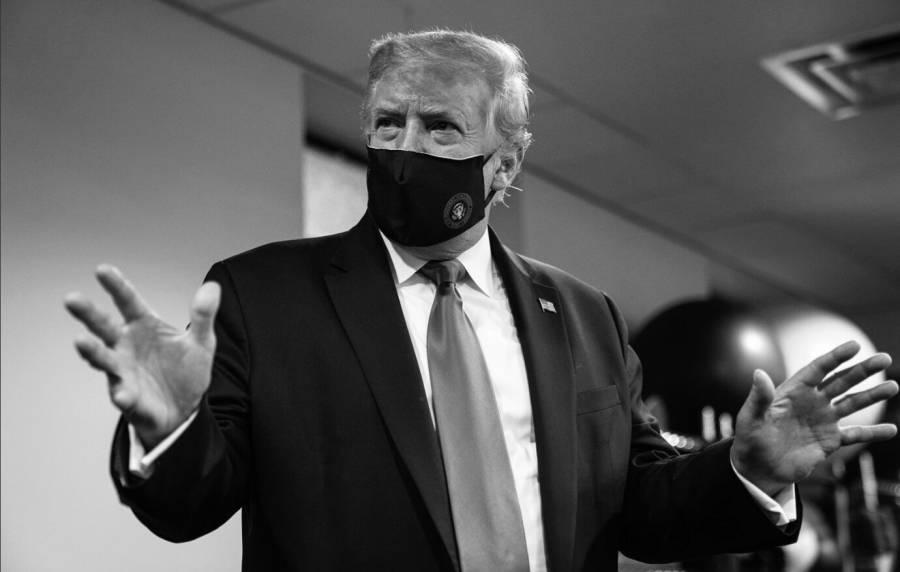 Y ahora Trump sale a la  defensa del cubrebocas