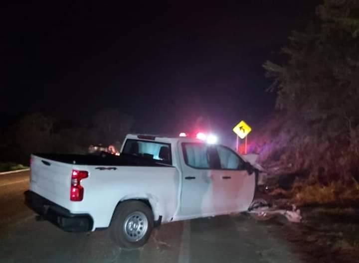 Automóvil que causó accidente contra vehículo de Zoé Robledo iba a exceso de velocidad