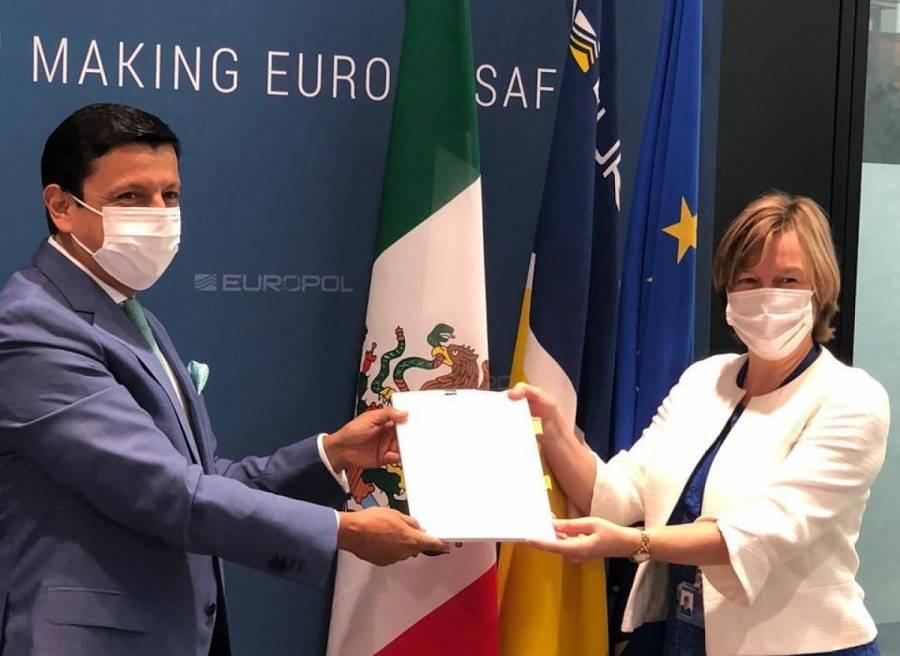 México y Europol firman pacto para combatir al crimen organizado