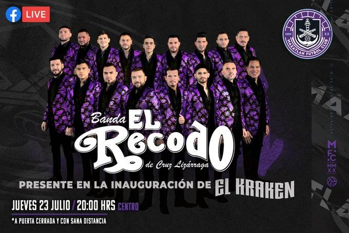 Mazatlán FC presentará su playera durante concierto de la Banda El Recodo