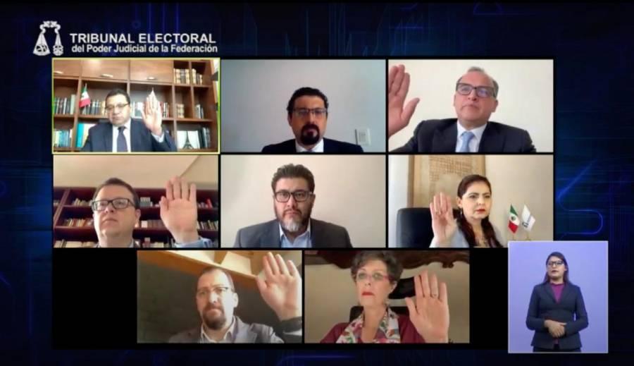 TEPJF desecha impugnaciones contra la formación de quintetas para consejeros del INE