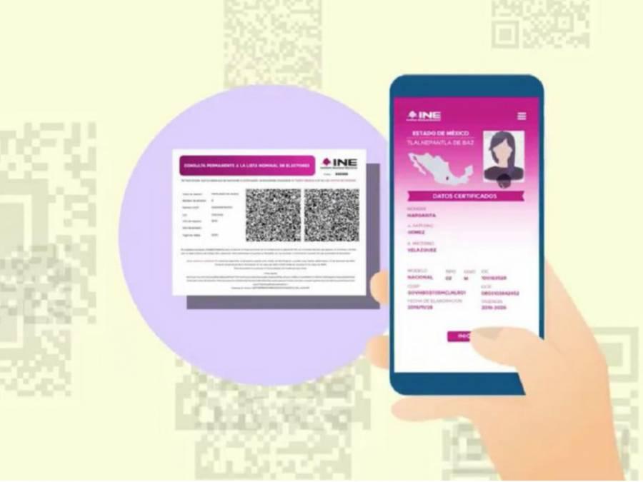 INE llama a bancos a aceptar constancias digitales