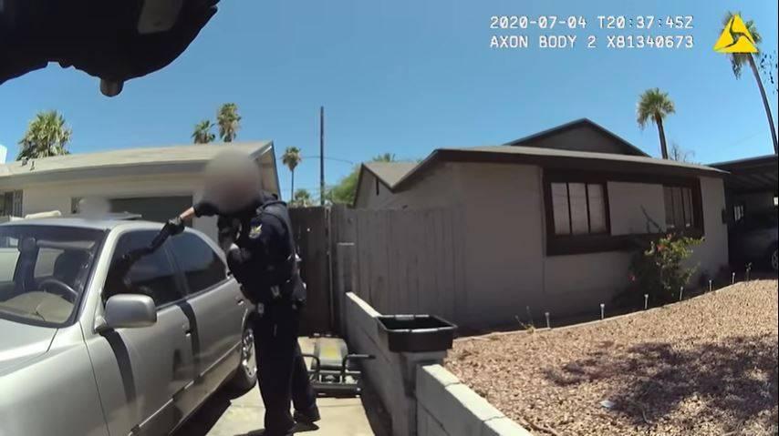 Policía de Phoenix muestra tiroteo contra joven hispano