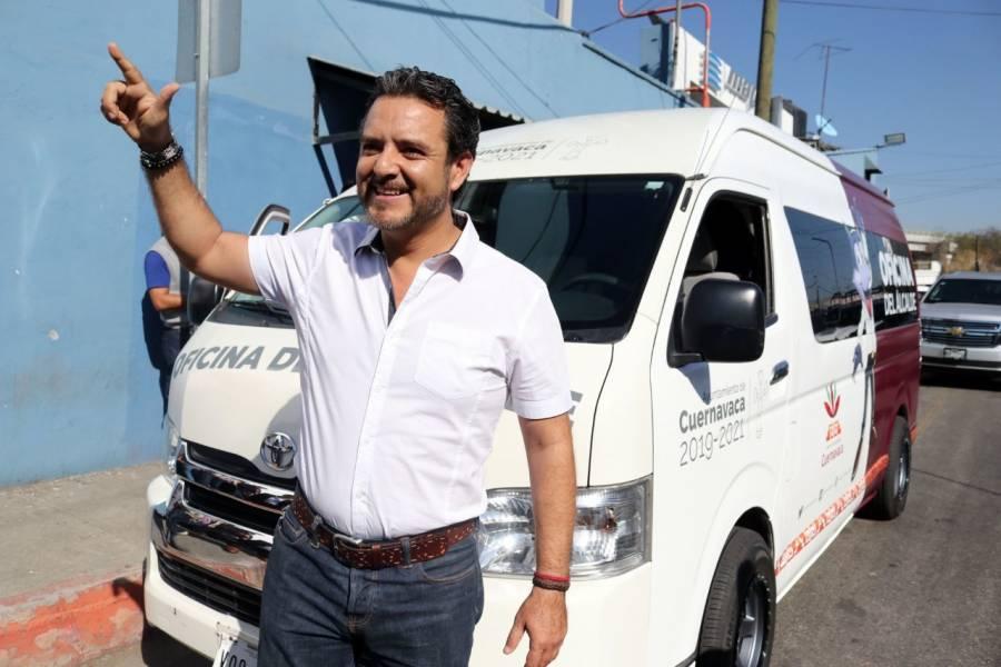 Alcalde de Cuernavaca teme por su vida y acusa campaña en su contra