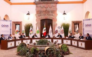 LAMENTAN GOBERNADORES DEL PAN PLANTÓN DE ALCOCER Y LOPEZ-GATELL