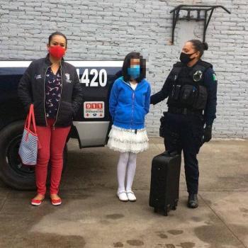 Policías localizan a menor, pide que no la lleven con sus padres