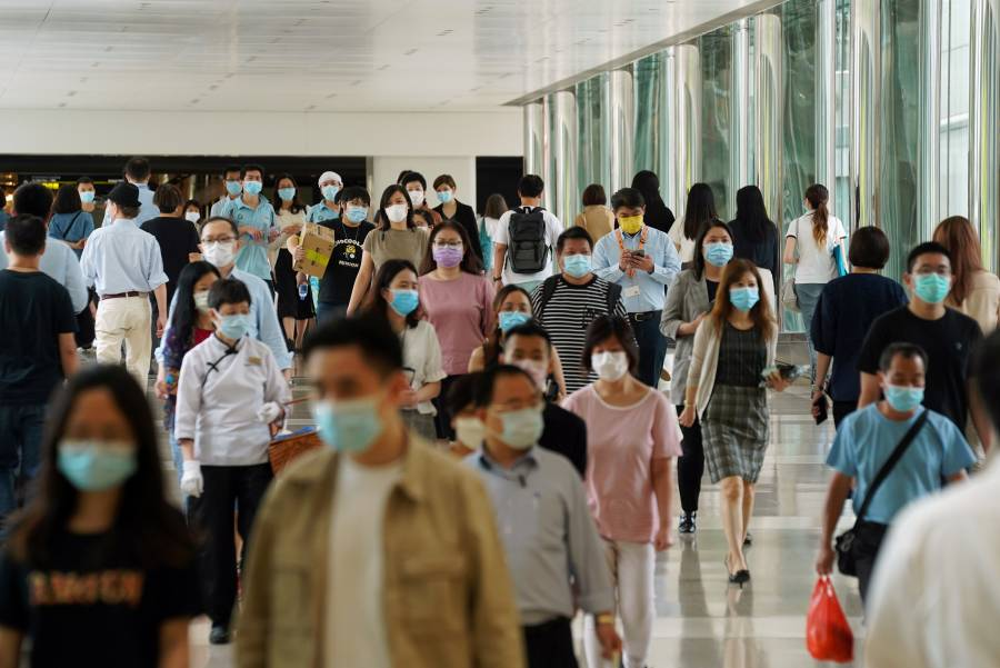 Hong Kong reporta nuevo récord de casos de Covid-19